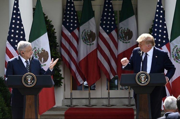 EEUU Y MÉXICO TRABAJAN JUNTOS EN CONTRA DEL COVID-19: TRUMP