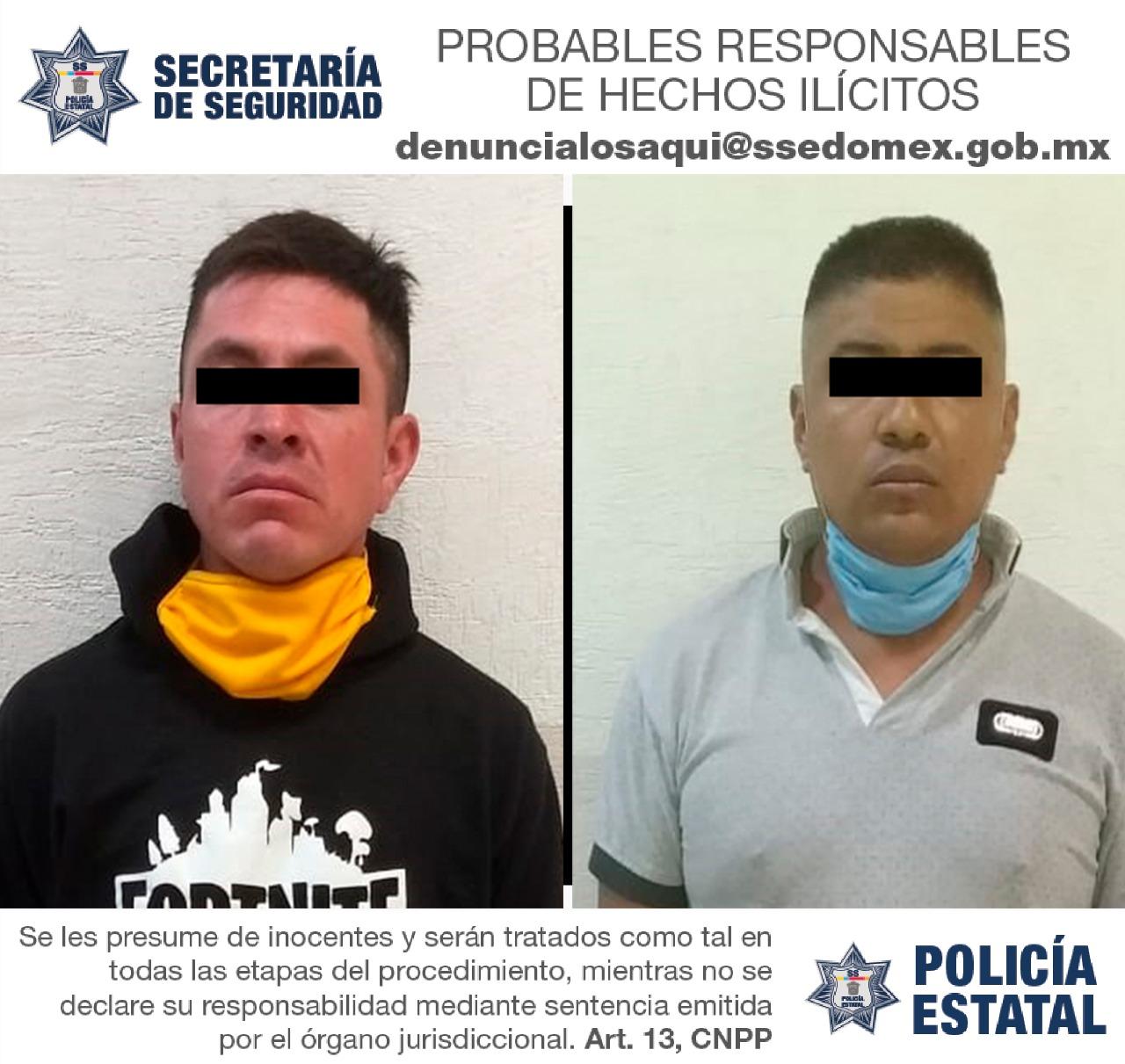 DETIENEN A DOS PROBABLES RESPONSABLES DE QUEBRANTAR SELLOS DE ASEGURAMIENTO DE UN INMUEBLE