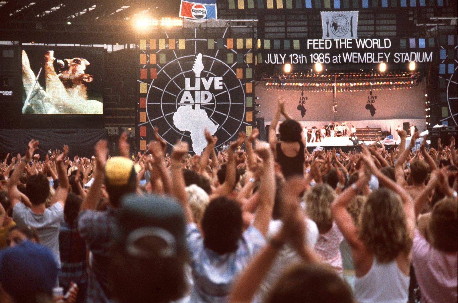 SE CUMPLEN 35 AÑOS DEL LIVE AID, EL SHOW MÁS GRANDE DEL ROCK Y DEL SIGLO XX