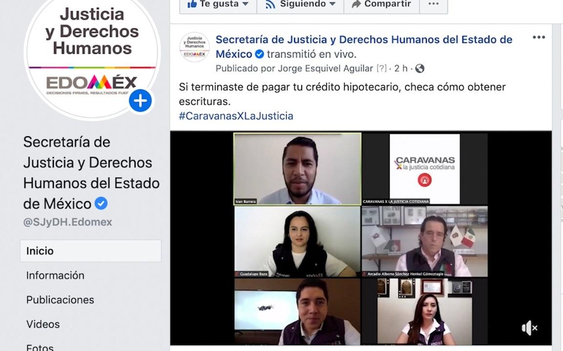 CARAVANAS POR LA JUSTICIA COTIDIANA CONTINÚAN BRINDANDO ASESORÍA JURÍDICA EN LINEA