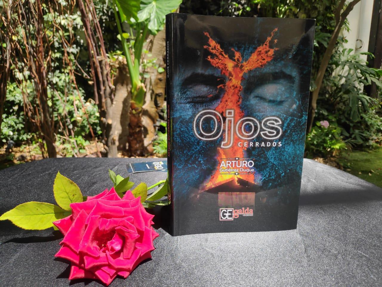OJOS CERRADOS, LA PRIMERA NOVELA SOBRE EL COVID-19