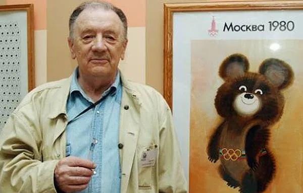 FALLECE CREADOR DE MISHA, MASCOTA DE LOS JUEGOS OLÍMPICOS DE MOSCÚ 1980