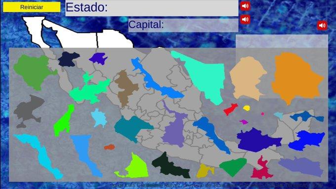 DESARROLLAN MAPA INTERACTIVO DE LA REPÚBLICA MEXICANA PARA QUE NIÑOS DE PRIMARIA APRENDAN GEOGRAFÍA