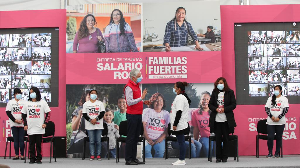BENEFICIA SALARIO ROSA A MÁS DE 270 MIL AMAS DE CASA: ALFREDO DEL MAZO