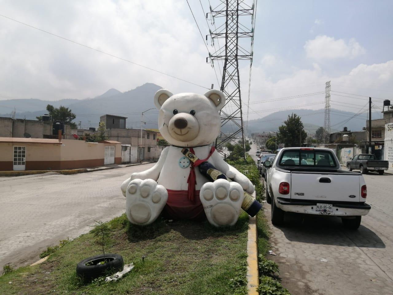 COBRADO FAMA EL OSO DE LAS TORRES EN TULTITLÁN