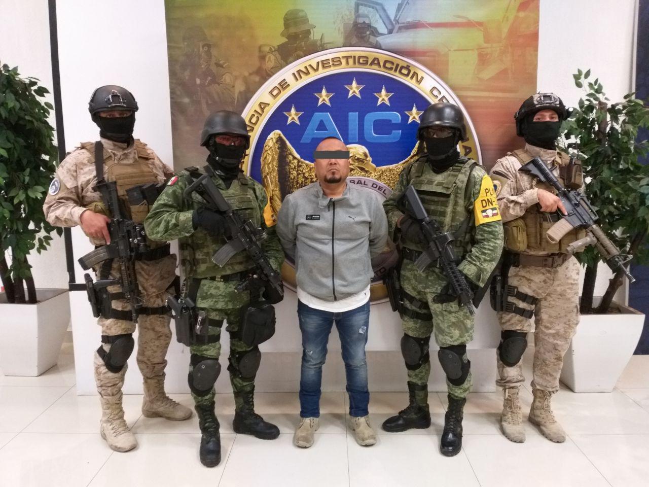 """""""EL MARRO"""" ES DETENIDO EN GUANAJUATO; LE ASEGURAN ARSENAL"""