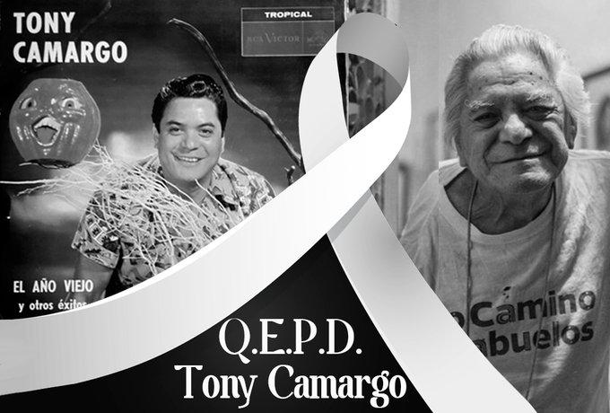 """MURIÓ TONY CAMARGO, INTERPRETE DE LA CANCIÓN """"EL AÑO VIEJO"""""""