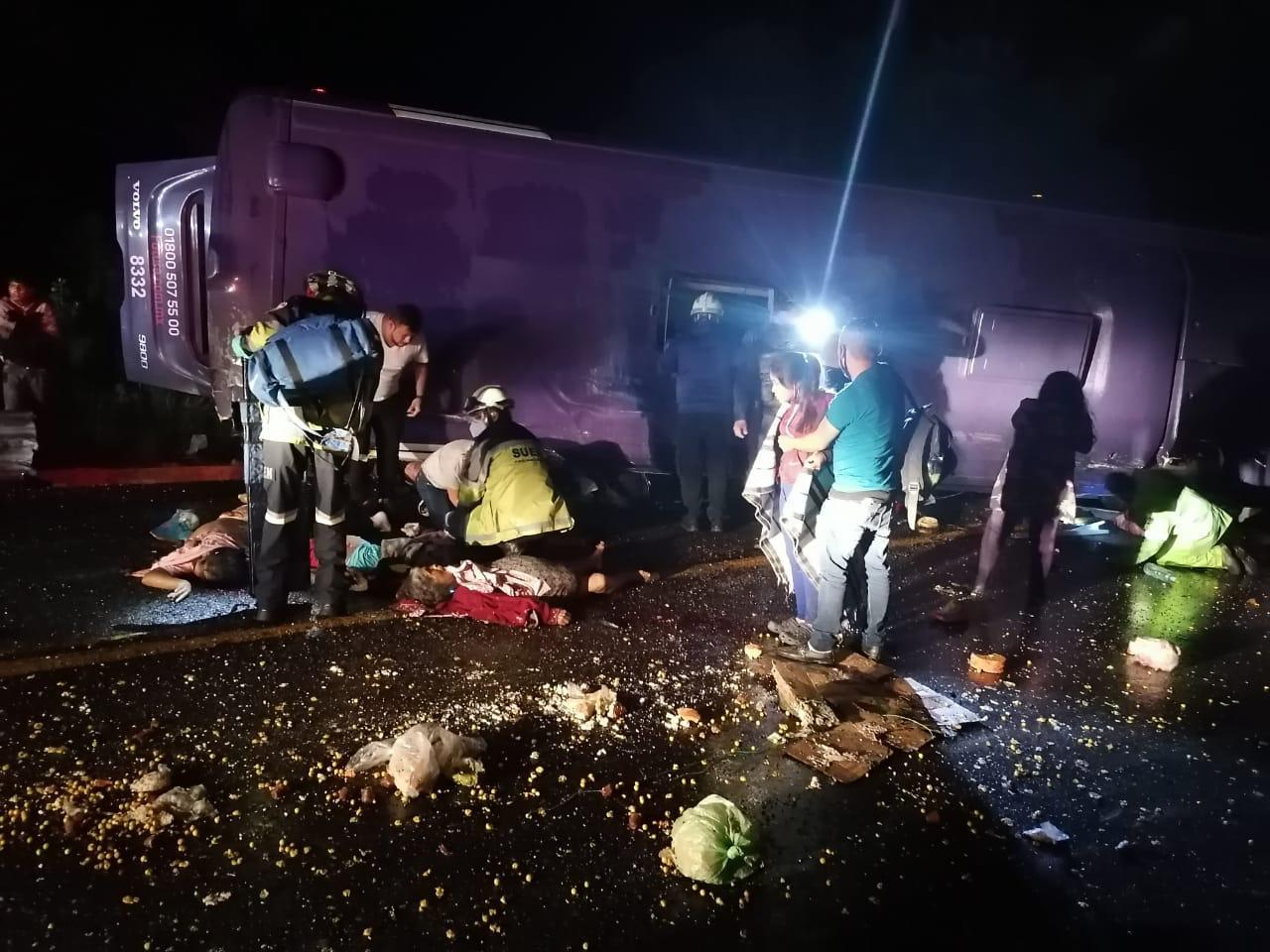 AUMENTA A 15 EL NÚMERO DE FALLECIDOS POR ACCIDENTE EN LA MÉXICO-TOLUCA