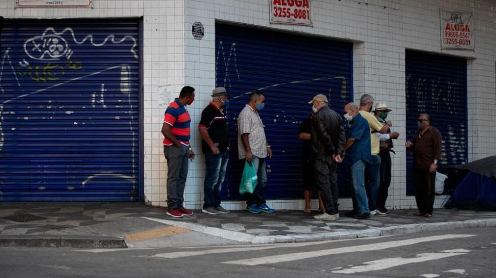 BRASIL ACUMULA 3.4 MILLONES CONTAGIOS DE COVID-19 Y RONDA LAS 110 MIL MUERTES