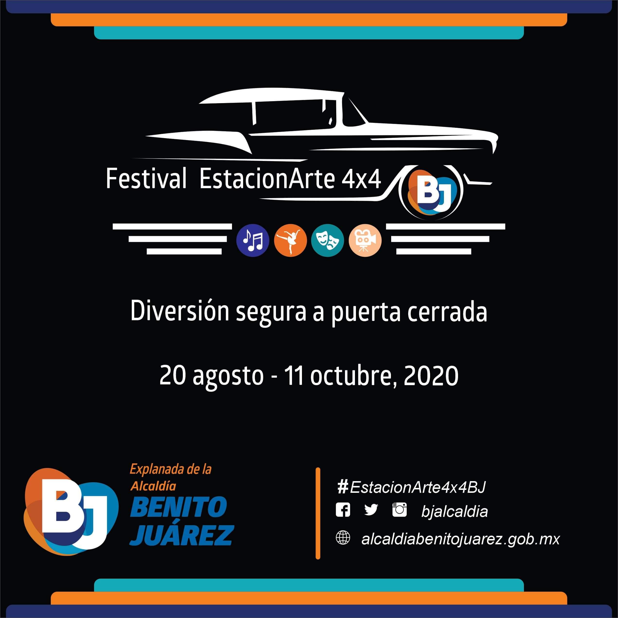 BIENVENIDOS A LA NUEVA NORMALIDAD: Festival  EstacionArte 4×4 BJ.