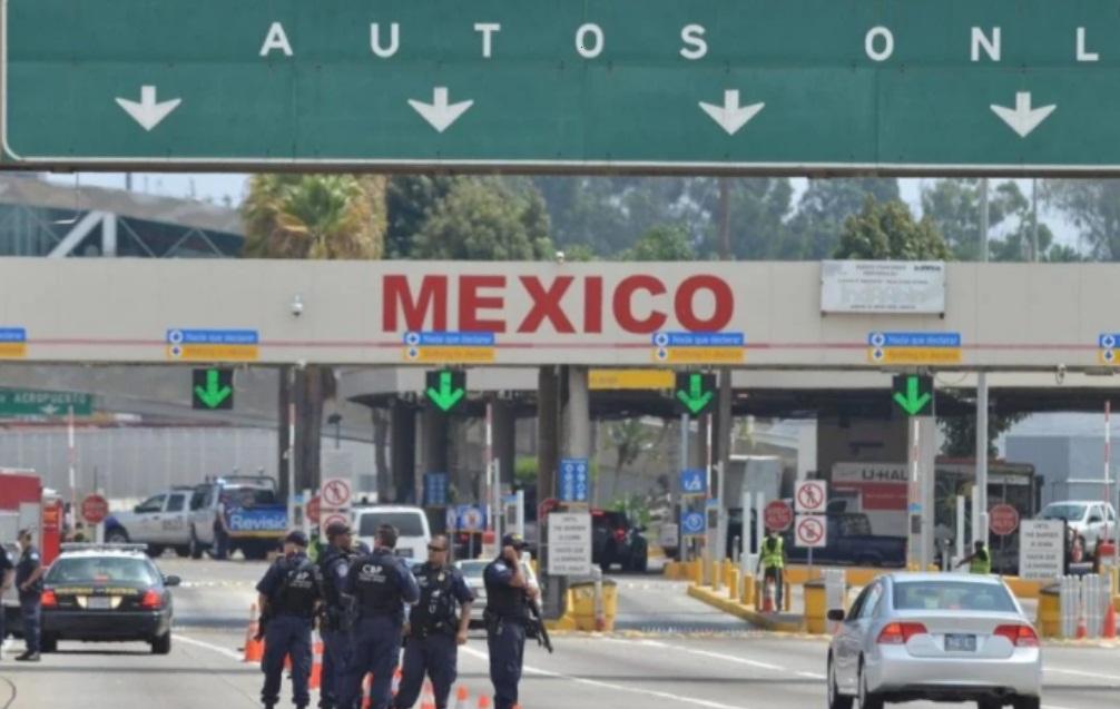 EXTENDERÁN RESTRICCIONES DE VIAJE EN LA FRONTERA ENTRE MÉXICO Y EUA