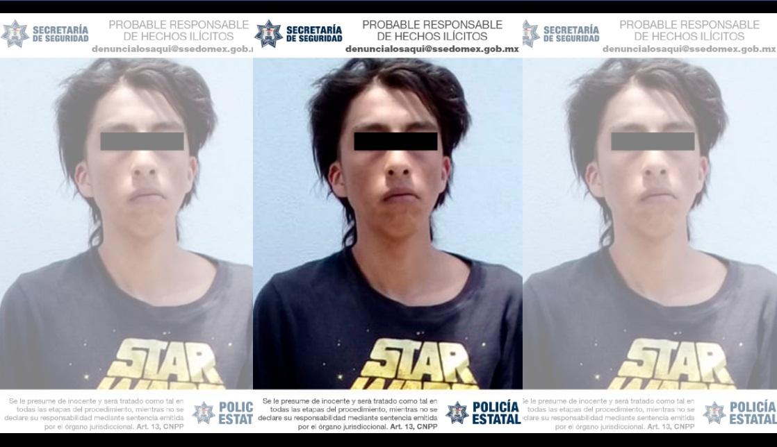 DETIENEN A PROBABLE RESPONSABLE DEL DELITO DE ROBO CON VIOLENCIA