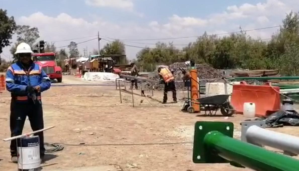 VIDEO: REABRIRÁN CIRCULACIÓN VIAL EN EL BRAZO DERECHO DEL RÍO CHURUBUSCO DE PERIFÉRICO ORIENTE