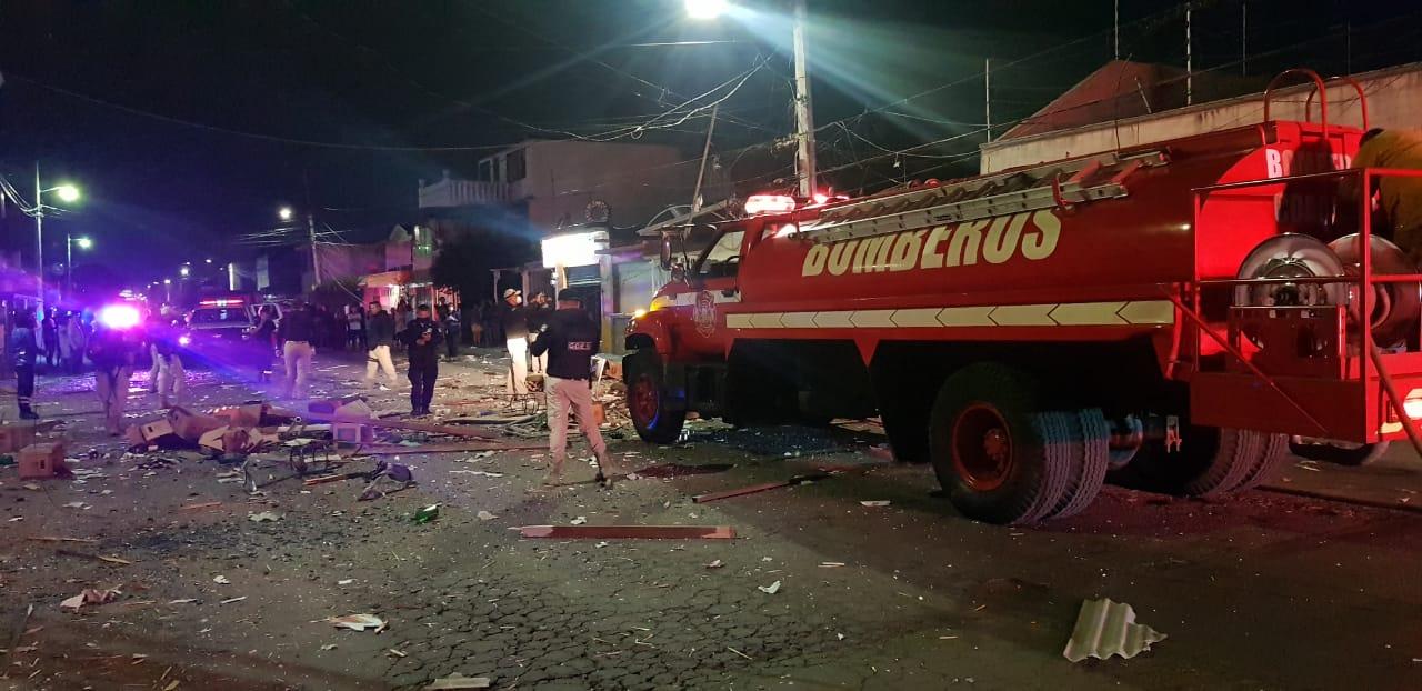 FUERTE EXPLOSIÓN DURANTE MADRUGADA EN COACALCO