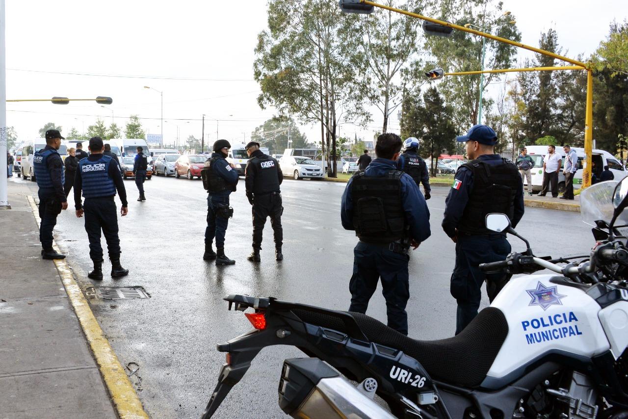 PREPARAN OPERATIVO ESPECIAL PARA INHIBIR LOS DISPAROS AL AIRE CON ARMAS DE FUEGO