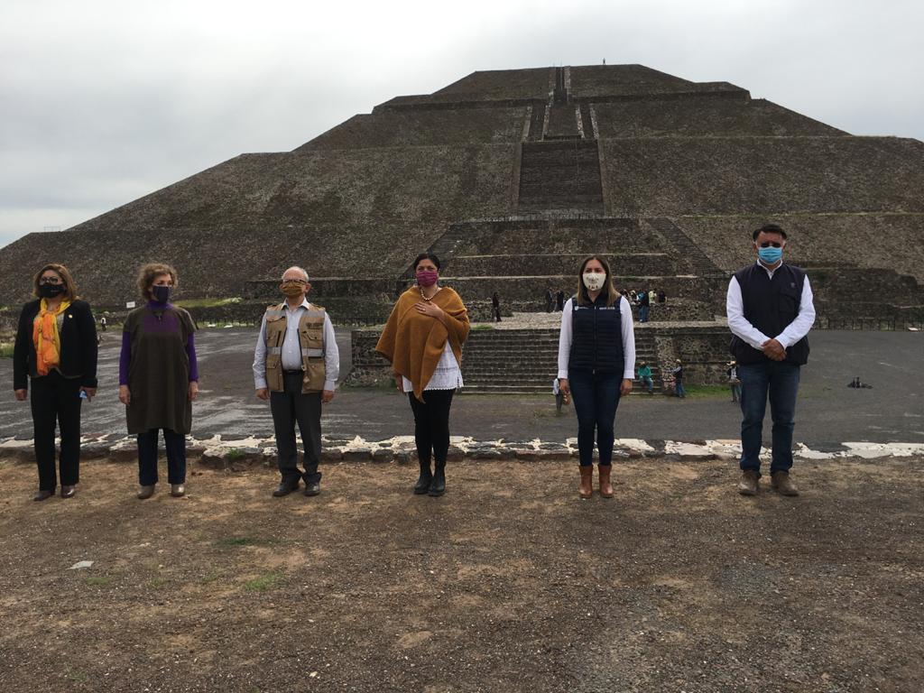 CONTINUARÁ REAPERTURA DE ZONAS ARQUEOLÓGICAS Y MUSEOS DE MÉXICO