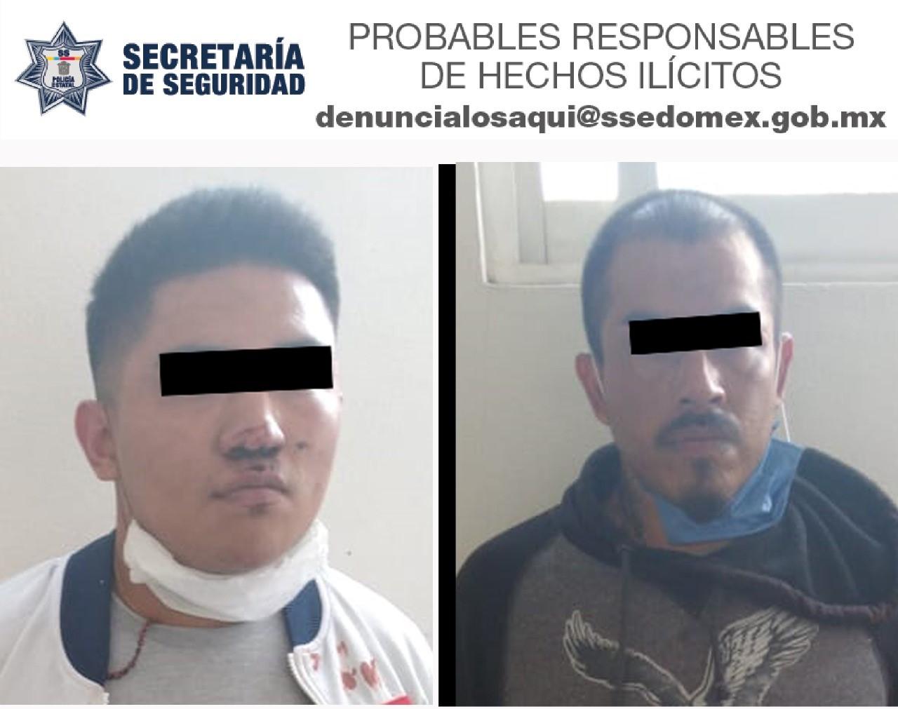 APREHENDEN A SUJETOS POR PRESUNTO ROBO DE VEHÍCULO