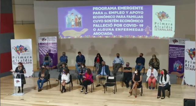 DAN APOYO ECONÓMICO Y EMPLEO A DEUDOS DE PERSONAS FALLECIDAS A CAUSA DE CORONAVIRUS