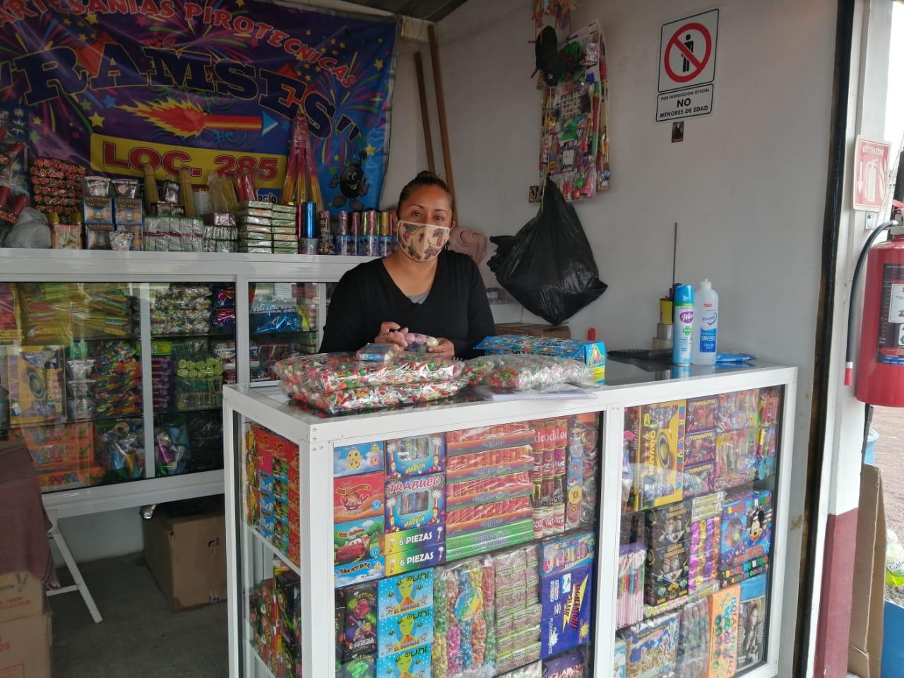 REGISTRA UN REPUNTE EN VENTAS MERCADO DE PIROTECNIA SAN PABLITO