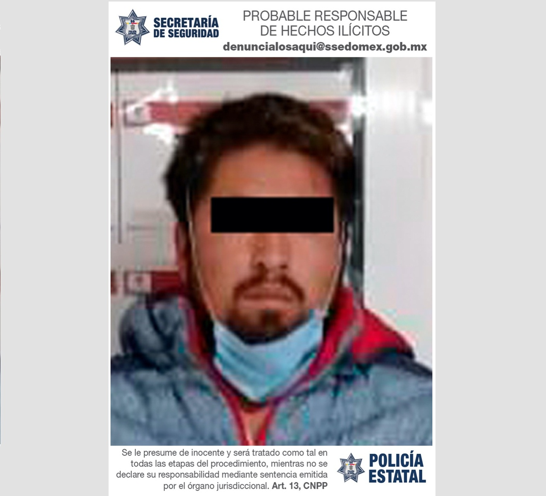 DETIENEN A PROBABLE RESPONSABLE DEL ROBO CON VIOLENCIA A TRANSEÚNTES