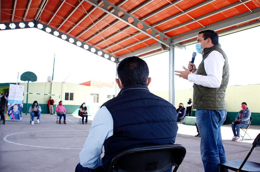 "ENTREGA EDOMÉX REMODELACIÓN DE LA PRIMARIA ""PROFR. EDUARDO ZARZA"", EN JILOTEPEC"