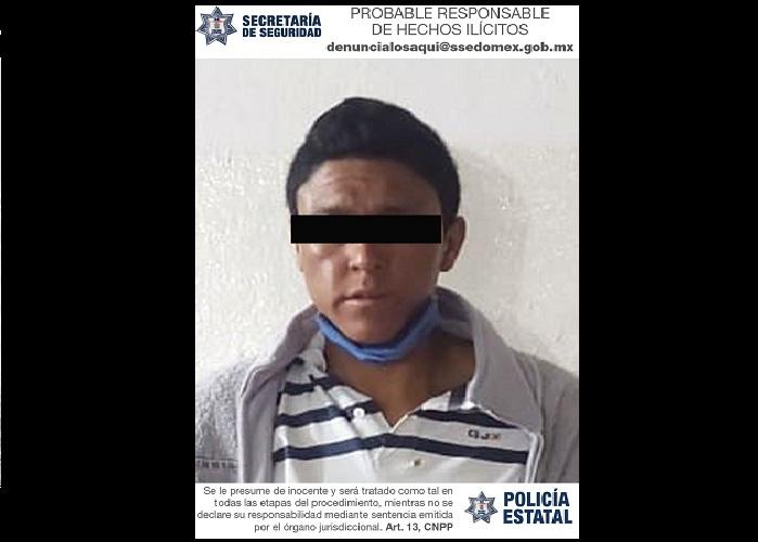 DETIENEN EN TOLUCA A PROBABLE RESPONSABLE DE DELITOS CONTRA LA SALUD