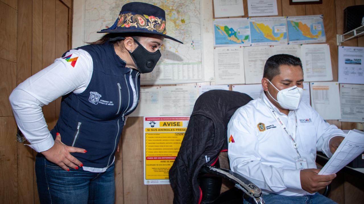 SUPERVISA SECRETARÍA DE DESARROLLO AGROPECUARIO PUNTOS DE VERIFICACIÓN E INSPECCIÓN ANIMAL
