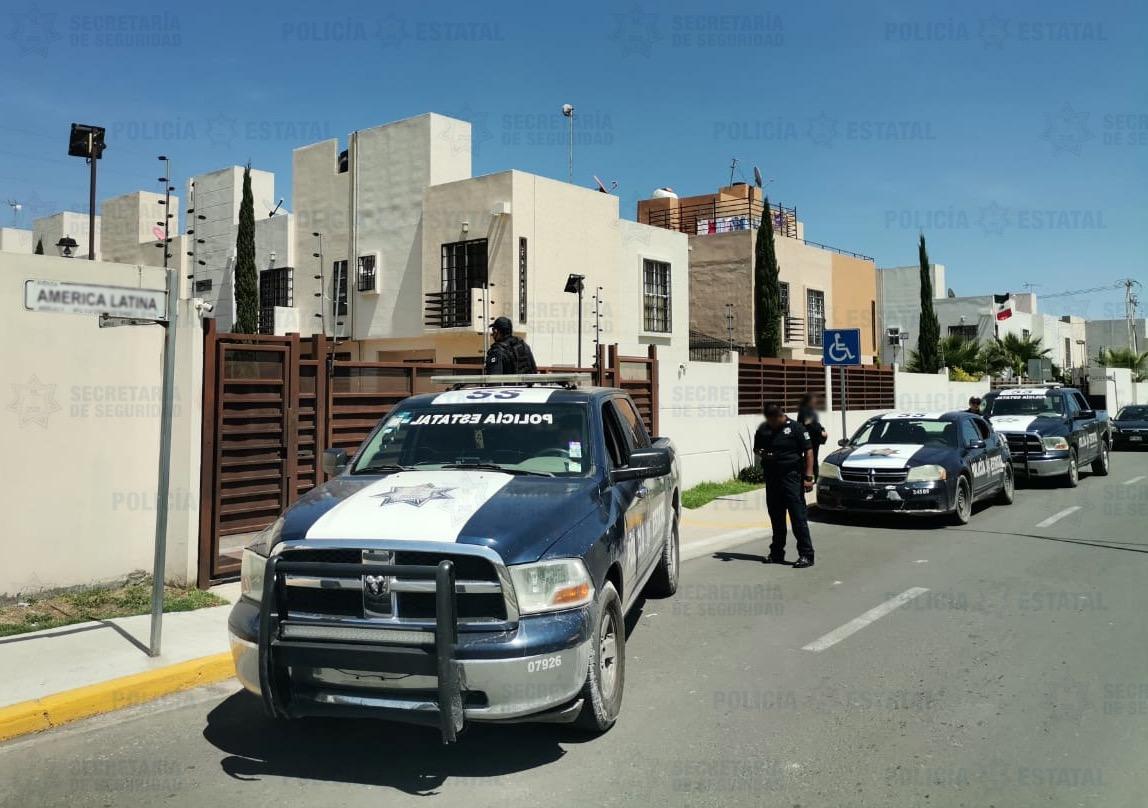 LOCALIZAN VEHÍCULO CON REPORTE DE ROBO EN UNIDAD HABITACIONAL DE ECATEPEC