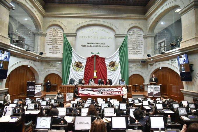 CONGRESO DEL EDOMÉX AVALA REDUCCIÓN DE SÍNDICOS Y REGIDORES EN AYUNTAMIENTOS