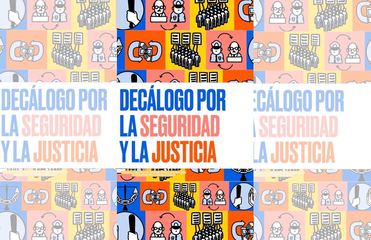 ASOCIACIONES CIVILES PRESENTAN DECÁLOGO POR LA SEGURIDAD Y LA JUSTICIA