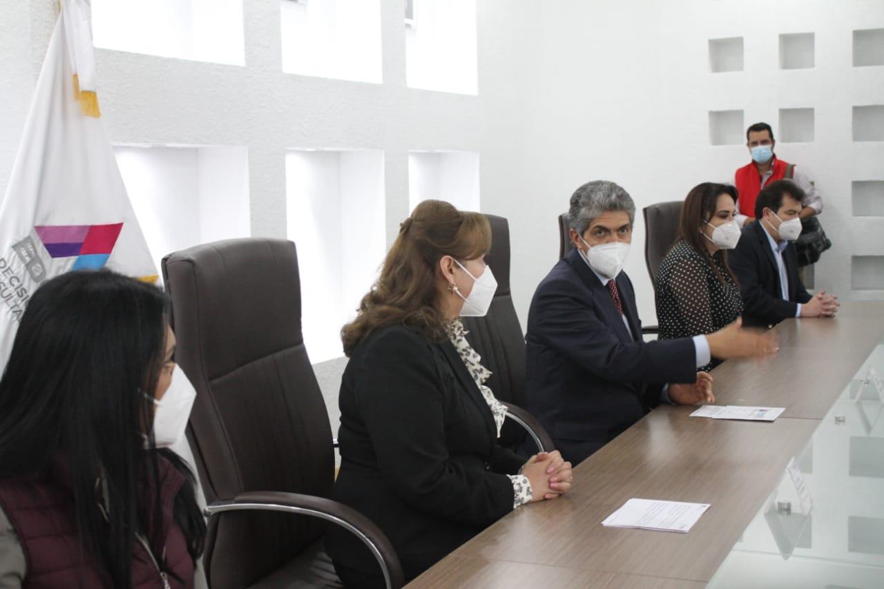 ERNESTO NEMER FORMALIZA ACTIVIDADES DE LOS NUEVOS INTEGRANTES DEL GABINETE ESTATAL