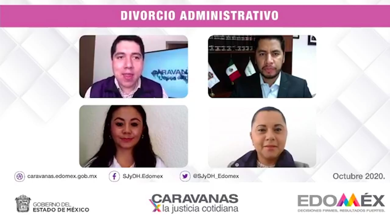 CARAVANAS POR LA JUSTICIA CIUDADANA OFRECE TRÁMITES PARA DISOLUCION DE MATRIMONIOS