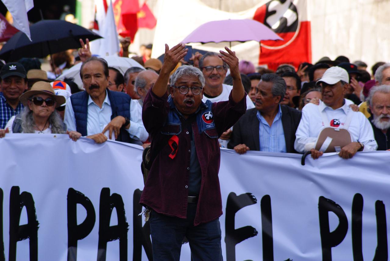 MARCHA DEL 2 DE OCTUBRE DEJA COMO SALDO SEIS HERIDOS EN LA CDMX