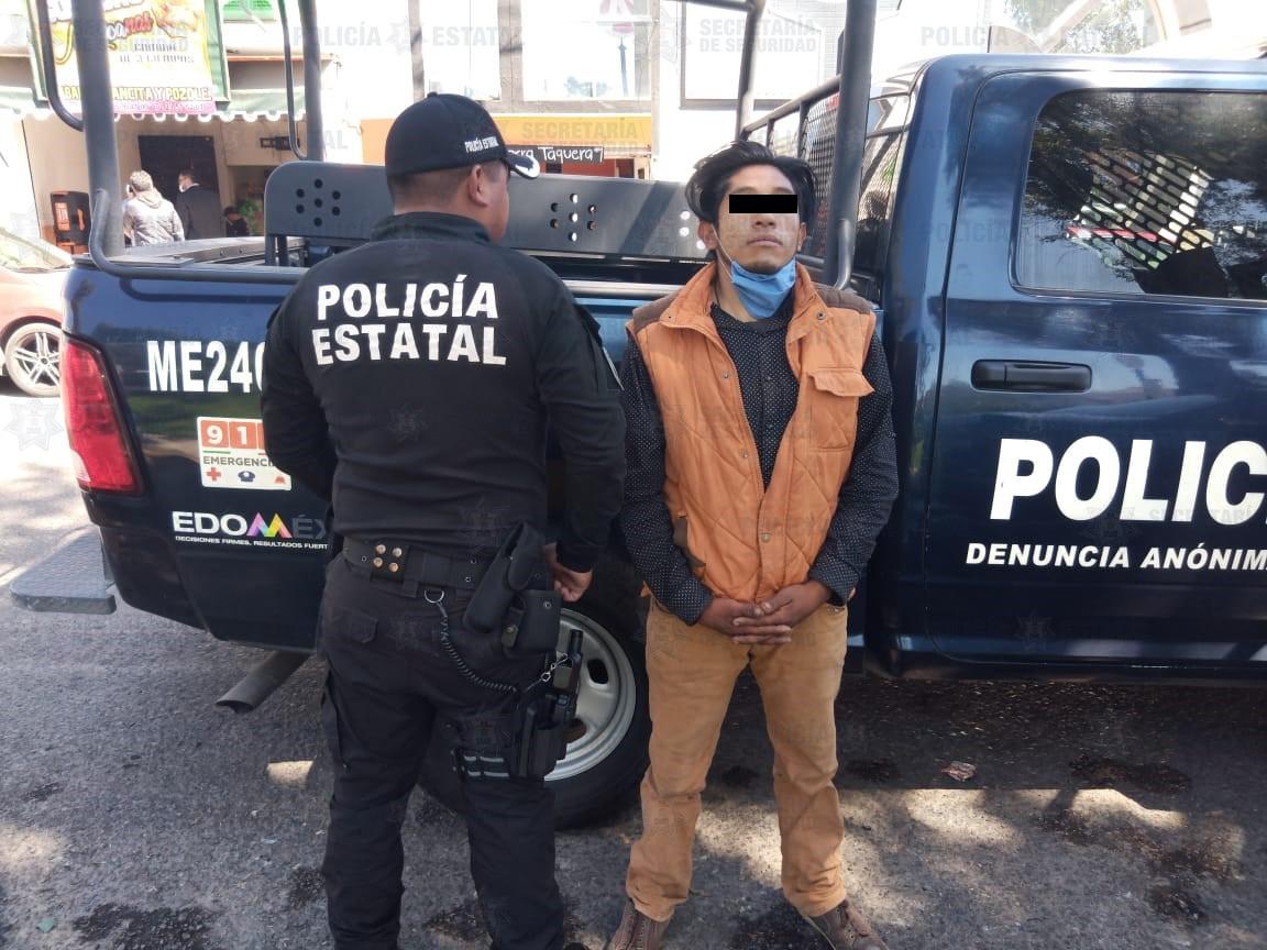 CAE PRESUNTO RESPONSABLE DE DELITOS CONTRA LA SALUD