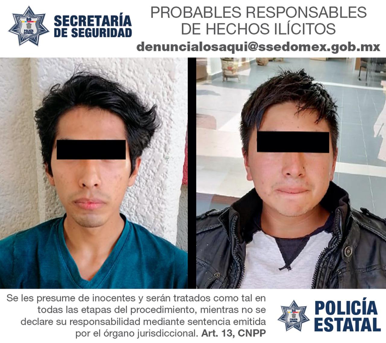 DETIENEN A DOS PROBABLES RESPONSABLES DEL DELITO DE PRIVACIÓN ILEGAL DE LA LIBERTAD