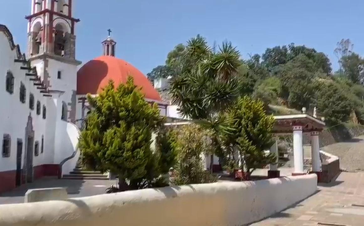EL CERRO DEL SACROMONTE EN AMECAMECA, UNO DE LOS SANTUARIOS MÁS VISITADOS EN EL PAÍS