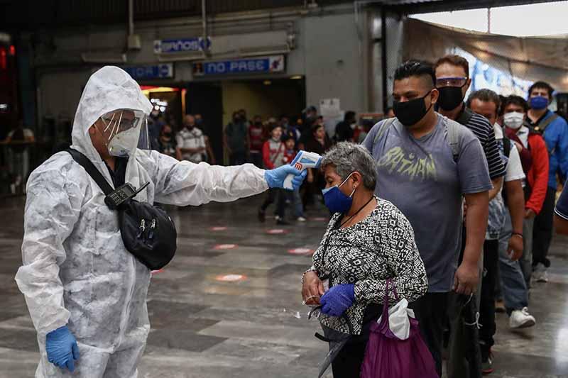 MÉXICO SUPERA LOS 851 MIL CASOS DE COVID-19 Y LAS 86 MIL MUERTES