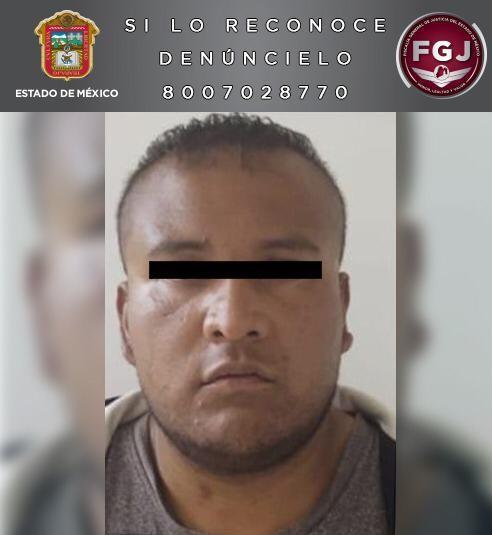 DETIENE FISCALÍA ESTATAL  A UN PROBABLE HOMICIDA EN TEXCOCO