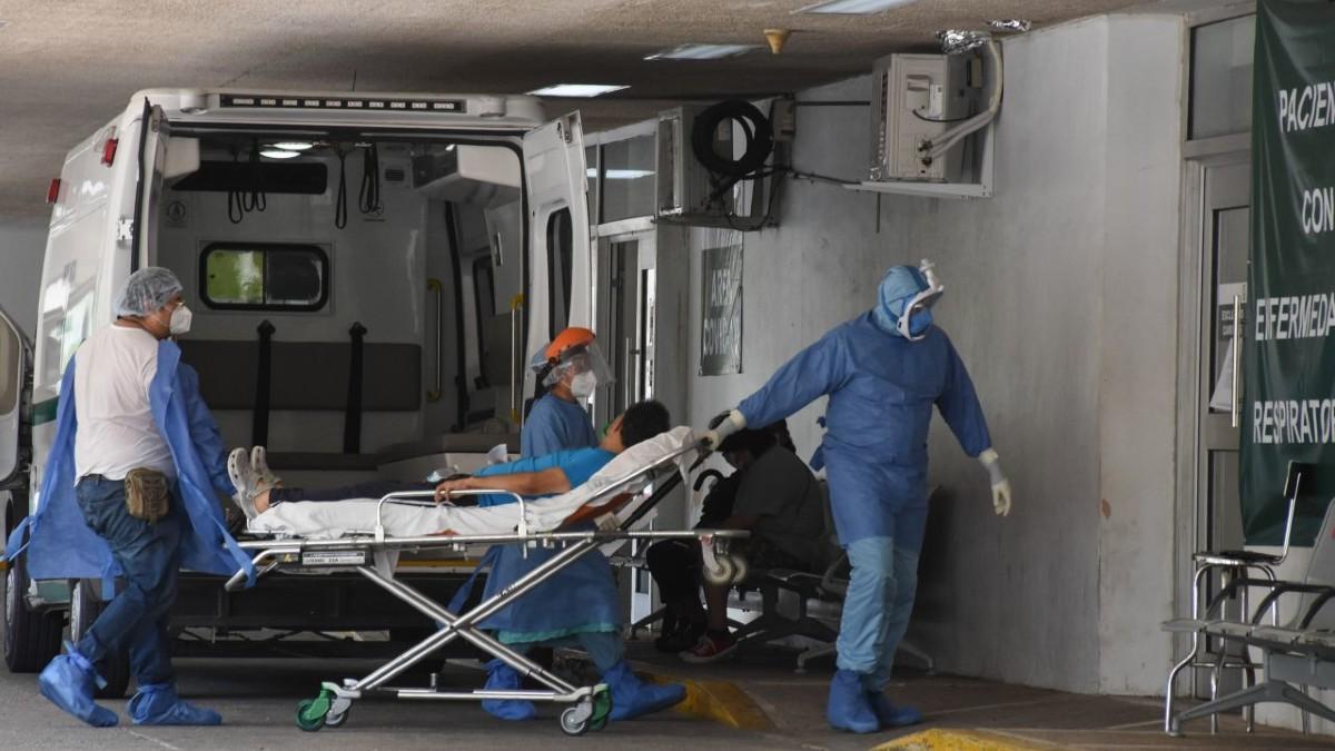 OCUPACIÓN HOSPITALARIA MAYOR A 75%, DATO DE ALARMA SOBRE UN REBROTE: IMSS