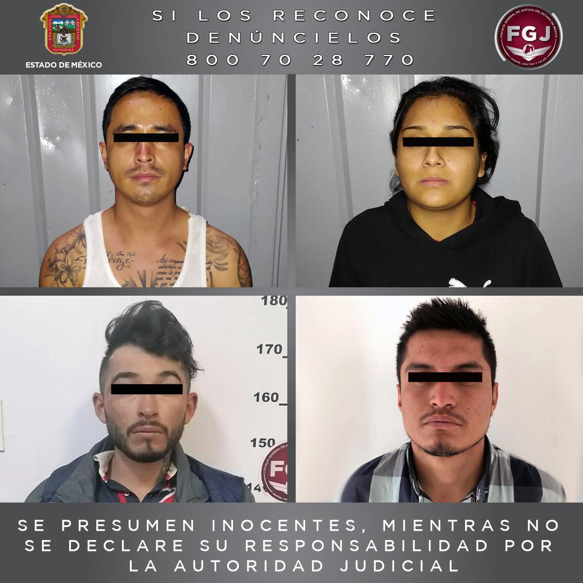 PROCESAN A CUATRO PERSONAS INVOLUCRADAS EN EL ROBO DE VEHÍCULO CON VIOLENCIA