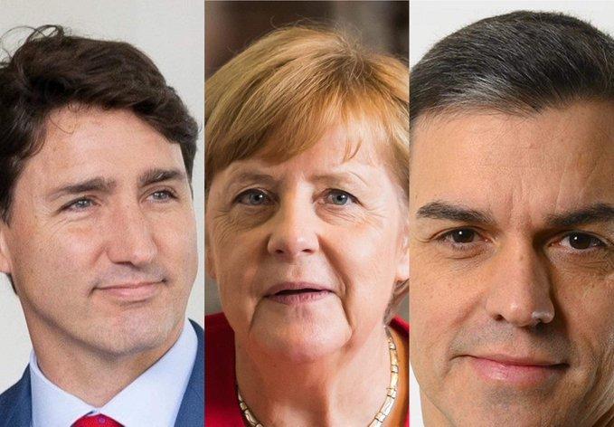 LÍDERES DEL MUNDO RESPALDAN A JOE BIDEN COMO PRESIDENTE ELECTOR DE EU