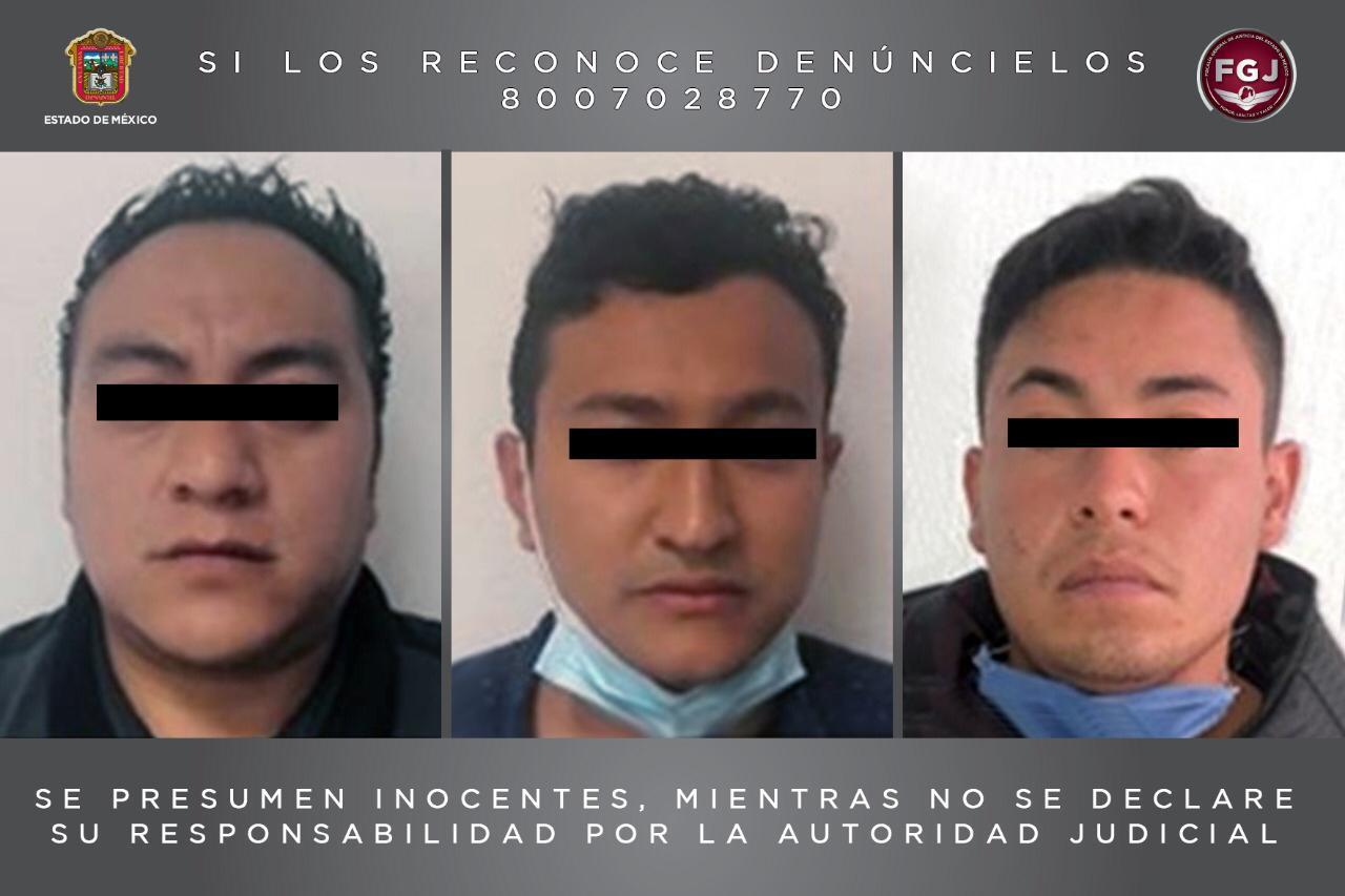 VINCULAN A PROCESO A TRES SUJETOS POR HOMICIDIOS EN VALLE DE MÉXICO