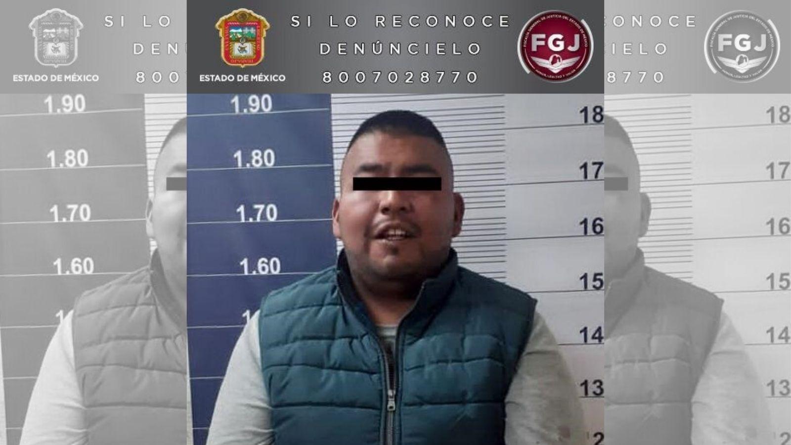 APREHENDEN EN CHALCO A EXTORSIONADOR QUE SE OSTENTABA COMO MIEMBRO DE ORGANIZACIÓN CRIMINAL