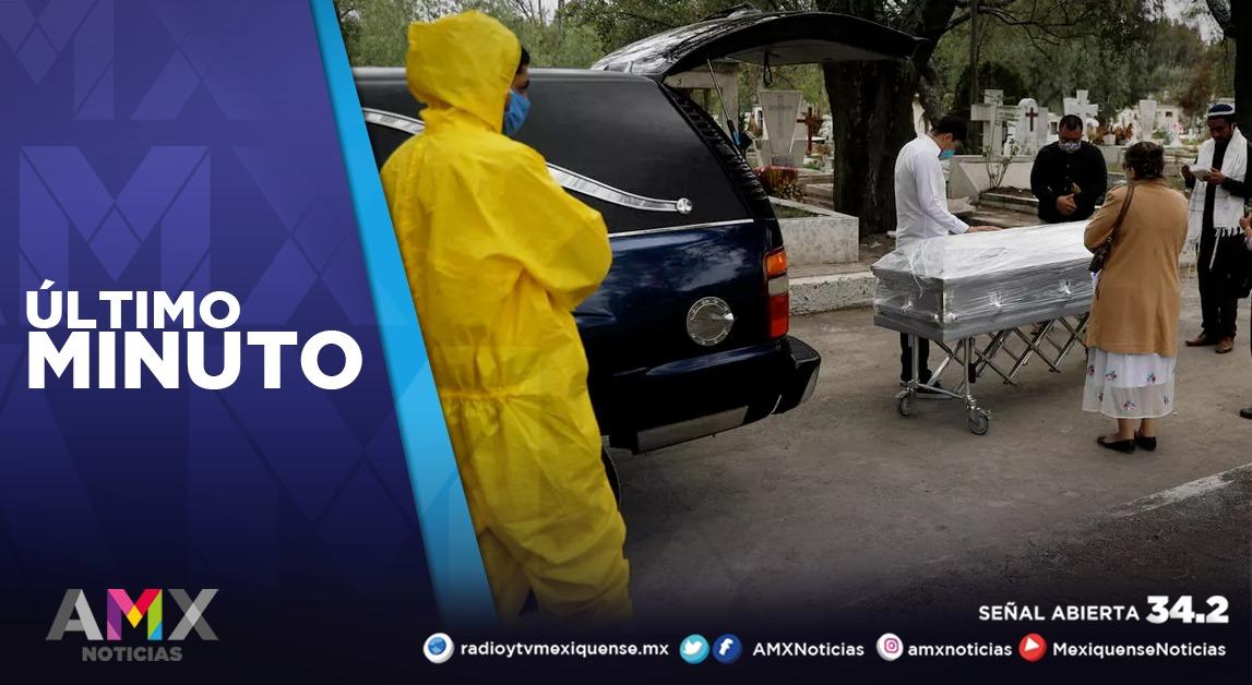 MÉXICO LLEGA A 97 MIL 56 MUERTES POR COVID-19; HAY 991 MIL 835 CONTAGIOS