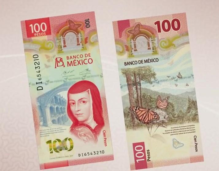 BANCO DE MÉXICO PRESENTA NUEVO BILLETE DE CIEN PESOS