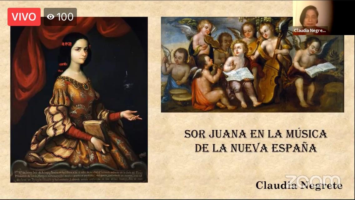 COMPARTEN INVESTIGADORES DE ARTE DATOS SOBRE LA FACETA MUSICAL DE SOR JUANA INÉS DE LA CRUZ