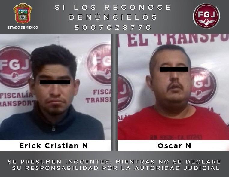 VINCULAN A DOS SUJETOS INVESTIGADOS POR EL DELITO DE ROBO CON VIOLENCIA
