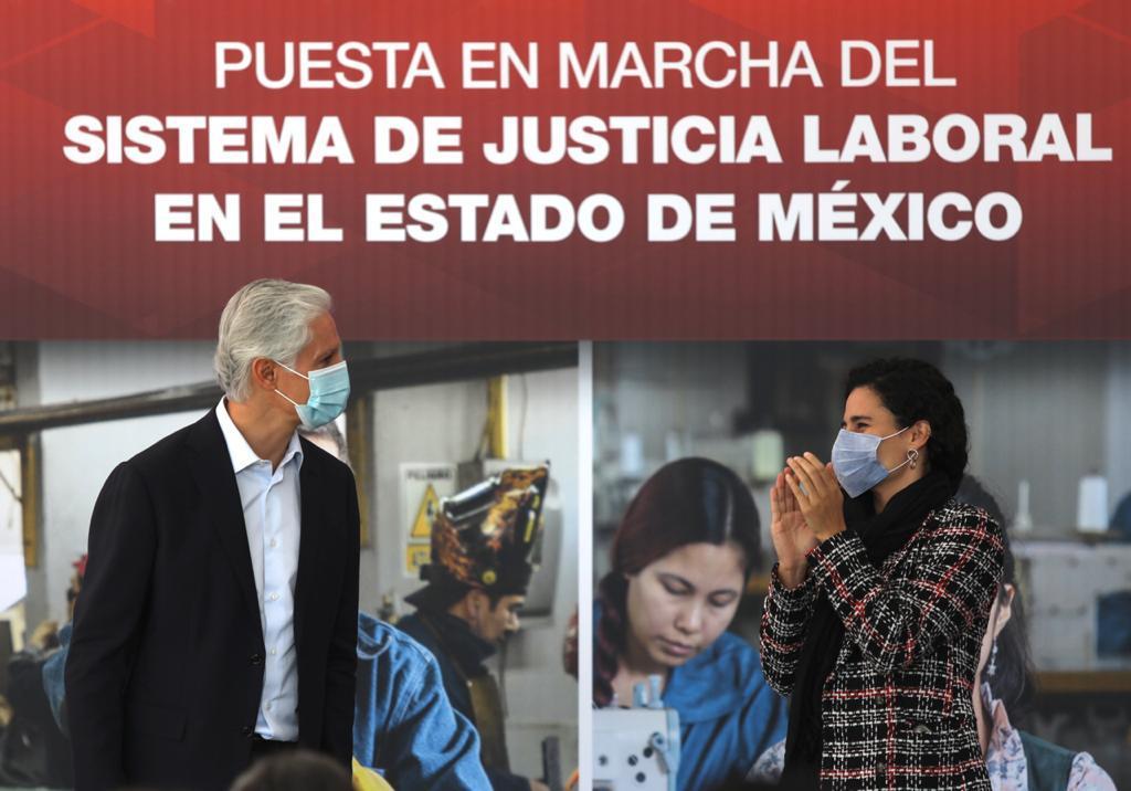 ALFREDO DEL MAZO PONE EN MARCHA EL NUEVO SISTEMA DE JUSTICIA LABORAL EN EL EDOMÉX