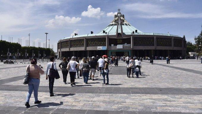 AÚN NO DEFINEN SI BASÍLICA DE GUADALUPE ABRIRÁ 11 Y 12 DE DICIEMBRE