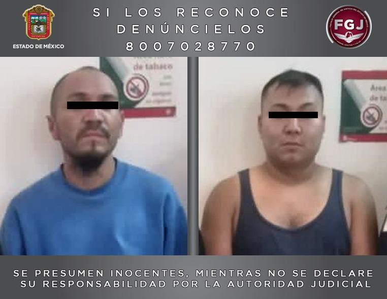 ASEGURAN DROGA EN INMUEBLE EN TLALNEPANTLA; DOS DETENIDOS